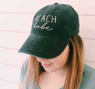 "Beach Babe ""Dad"" Hat"