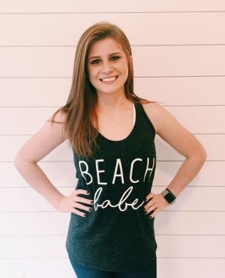 Beach Babe Women's Tank Top