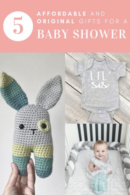 5 Affordable and Original Baby Shower Gifts