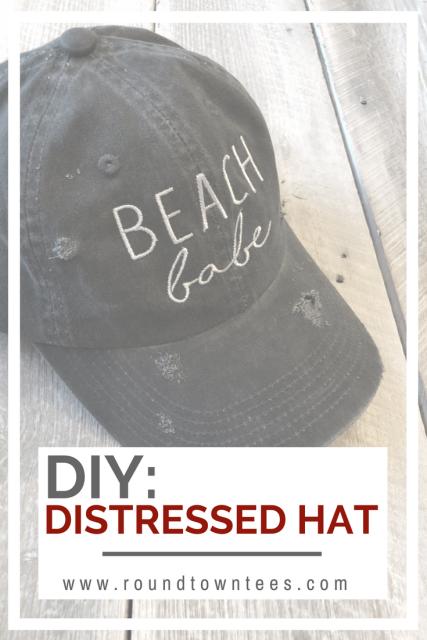 DIY: Distress Your OwnHat